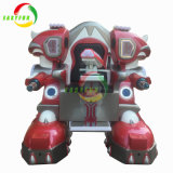 シンガポール新しくおかしい銃レーザーの射撃のゲーム・マシンの歩くロボットはシートに乗る