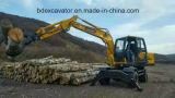 Baggermaschinen-ansteckendes Holz/Zuckerrohr/Bambus/Stroh/Steinmaschine