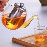 Vidro Pyrex personalizados chaleira com Infuser chaleira Dom bule de café em vidro borossilicato