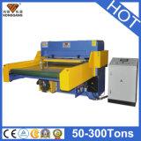 Vollautomatische hydraulische Gewebe-Streifen-Ausschnitt-Maschine