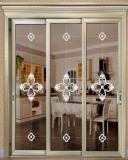 2018 Hot Sale Profil en aluminium fenêtres coulissantes avec Apple gris