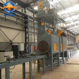 Le sablage de tuyaux en acier de la machine pour les côtés intérieur et extérieur