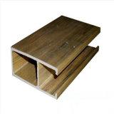 Профиль смеси WPC потолка строительного материала WPC деревянный пластичный