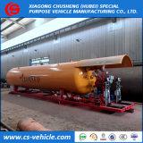 Kleine füllende Schienen-Selbststation des Mobile-5t 10t 15t 20t LPG mit doppelter Düsen-Zufuhr in Nigeria
