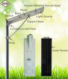 30W All in Ein Integrated Solar Street Lighting