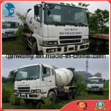 Japão White-Paint Usado 6 ~ 8cbm / 10-20ton Available-Engine / Gearbox 10-Cylinders Mitsubishi Betoneira