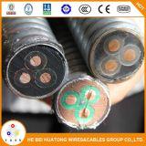 La Alta calidad 3*10mm2 funda cable conductor de cobre de cable de la bomba de aceite sumergible