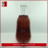 Delicado 750ml frasco de vidro de cristal Garrafa de Vinho