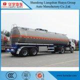 40cbm 40000L 3の車軸アルミ合金の燃料かオイルまたはディーゼル半輸送のタンカーのトレーラー