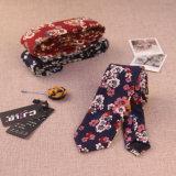 Panno di cotone stretto della cravatta 6cm degli uomini Bz0001