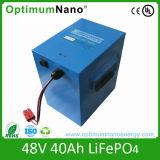 Ciclo de profunda 48V 40AH Bateria de iões de lítio para carro turístico