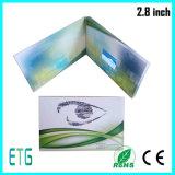 Venda quente e cartão de cartão LCD de 2,8 polegadas barato