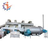 Lleno de acero inoxidable Tubería de refrigeración de aire principal de la máquina de secado de aire viento verduras patatas fritas de la máquina de deshidratación