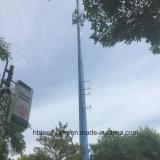 Башня CCTV стальная Поляк Поляк горячего DIP гальванизированная одиночная