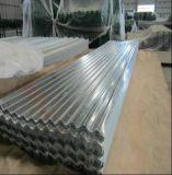 Lamiera di acciaio ondulata galvanizzata laminata a freddo per il tetto del metallo