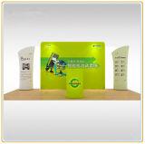 Spannkraft-Gewebe-Hintergrund-Wand-Bildschirmanzeige des Verkaufs-8ft gerade