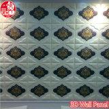 panneau de mur décoratif de panneau de décoration de panneau de l'écran 3D antibruit
