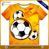 工場カスタム安い価格の昇華印刷のサッカーのワイシャツ