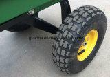 Rodas que rolam o carrinho de mão do portador do vagão do armazenamento
