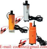 12V 24V DC Sumergible Mini Eléctrico de Agua y Combustible Diesel Bomba de aceite con interruptor on/off 30L/min 51mm Alquiler de carretilla Camping Portable