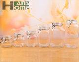 [450مل] مرطبان زجاجيّة مستديرة لأنّ كعك وسكّر نبات, مرطبان مبتكر زجاجيّة مع غطاء ختم صوف