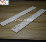 高品質の耐熱性アルミナかジルコニアの陶磁器の刃