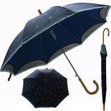 2015 새로운 주문 인쇄 훅 손잡이 우산은 형식 도착한다
