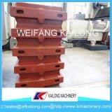 Garrafa de Molulding do salário alto, produto Ductile da caixa do molde da areia de ferro do ferro cinzento