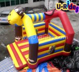 Singe commerciale Inflatable Bouncer château gonflable château gonflable pour la vente
