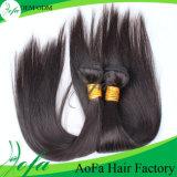 異なったタイプまっすぐなマレーシアの毛の人間の毛髪の大きさ