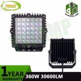 9inch quadratisches 12V 24V 360W CREE LED fahrendes Licht