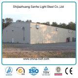 中国の大きいスパンの使用された鋼鉄プレハブの産業金属の小屋の販売
