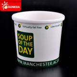 O logotipo personalizado impresso 16oz PLA copos sopa