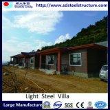 Canal de acero prefabricados de acero de la luz de la hermosa Villa