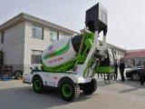 Jbc modo-40 4,0 metro cúbico Auto Alimentando Betoneira Máquina