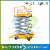 Plein type électrique constructeur de ciseaux de bonne qualité de Qingdao de levage d'homme