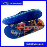 Nuevo deslizador caliente del calzado del PE de los hombres de la impresión para el hombre (14L016)