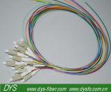 tresse de fibre de 12cores LC/PC millimètre