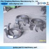 La inversión de piezas de fundición de aluminio mecanizado con CNC