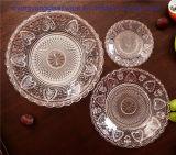Piatto caldo 3PCS Palte di vetro Housewear & arredamento della frutta di vendita