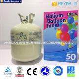El tanque disponible inferior del helio de la presión 13L 22L 30p 50p para los globos