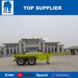 Титан 3 осей контейнер для продажи прицепа с емкость корпуса шасси