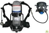 消火活動のはめ込み式空気呼吸装置
