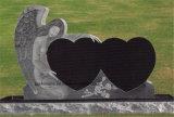 Polishsed smerigliatrice la lapide nera assoluta nera fiammeggiata del Headstone della pietra tombale del granito dello Shanxi