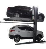 Levage hydraulique bon marché de véhicule de stationnement de double de case