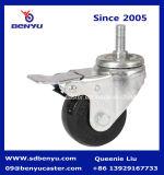 Средней мощности с высоким качеством самоустанавливающегося колеса полиуретановые колеса