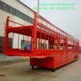 10 à 2 essieux Voiture/SUV Transporteur semi-remorque