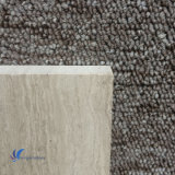 Polished 자연적인 백색 목제 곡물 돌