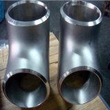 ANSI het Naadloze Rechte T-stuk SS316 van het Roestvrij staal SS304