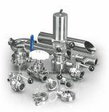 Válvula de Controle de Diafragma Pneumático de Qualidade Alimentar